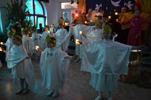 Преподаватели и воспитанники воскресной школы поставили праздничный спектакль