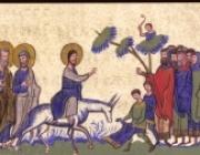 Вход Господень в Иерусалим. Вербное воскресенье